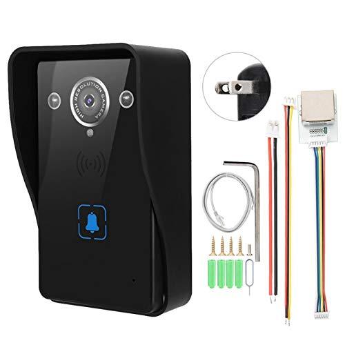 Videoportero Cámara, red cableada y conexión inalámbrica WiFi PIR(American standard (110-240V))