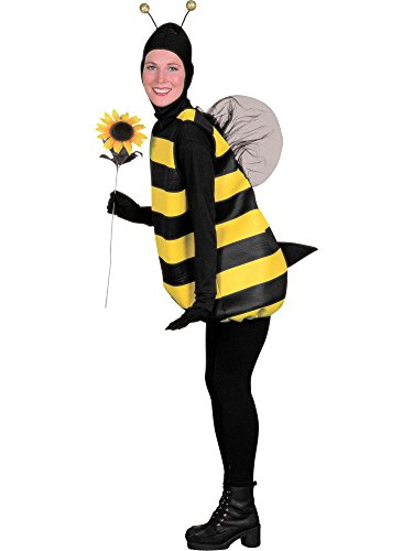 Forum Novelties womens Forum Bumble Bee adult sized costumes, Black/Yellow, One Size US