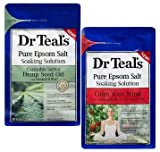 Dr Teal's Cannabis Sativa Hemp Seed Oil & Calm Your Mind Ashwagandha with Essential Oil Blend