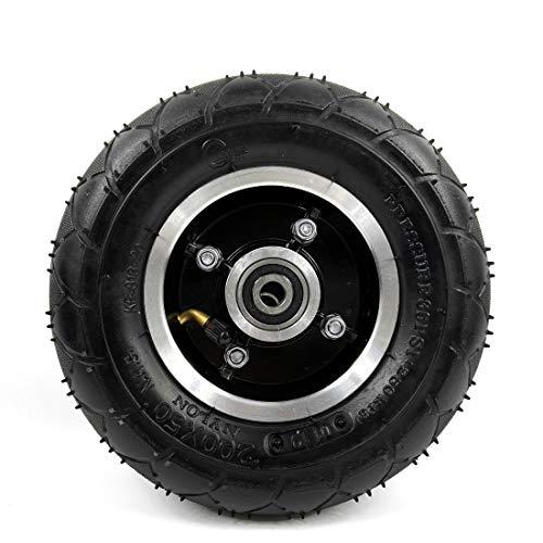 Neumático eléctrico de la vespa de los 200MM con el neumático neumático de la rueda de la aleación de aluminio del vehículo eléctrico de la inflación del neumático de la vespa 8 ' (wheel)