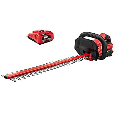 "Skil HT4221-10 PWRCore 40 24"" Brushless 40V Hedge Trimmer Kit Includes 2.5Ah Battery and Auto PWRJump Charger"