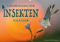 Oberbayerischer Insekten Kalender (Wandkalender 2022 DIN A2 quer): Wie sechsbeinige Zweifluegler die Fantasie befluegeln (Monatskalender, 14 Seiten )