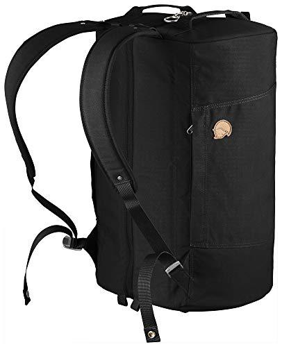 Fjallraven - Splitpack Backpack Duffel Bag for Everyday Use, Black