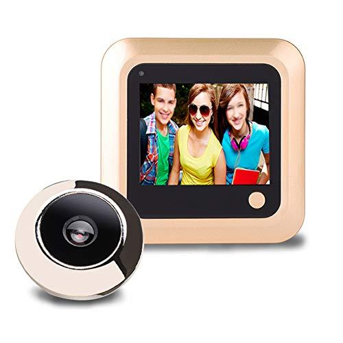 OWSOO Mirilla Digital 2.4 TFT Pantalla LCD Monitor de Puerta Electronic Digital para Seguridad de Hogar