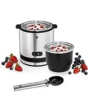 WMF Küchenminis 3-in-1 ijsmachine, ijsmaker voor bevroren yoghurt, sorbet en ijs, vrieshouder 300 ml, 30 minuten tijd, Frozen yoghurtmachine