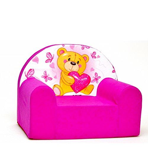 welox H3infantil Sillón Silla Infantil Sofá relax Sillón suave gemütlich Varios Colores