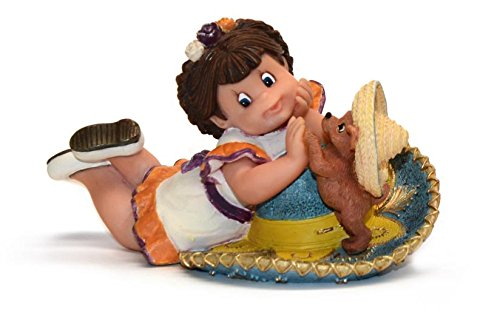 Nadal Figura Decorativa mi Lindo Chihuahua, Resina, Multicolor, 7.50x13.50x8.00 cm