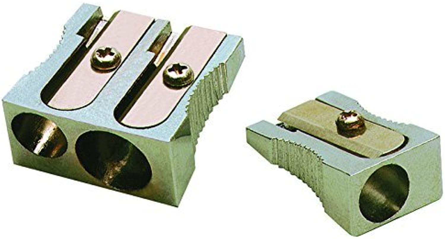 Charles Leonard Inc., Pencil Sharpener - Metal - Two Hole - Rectangular - 1 each, 77755 by Charles Leonard B0141N5EWU | Treten Sie ein in die Welt der Spielzeuge und finden Sie eine Quelle des Glücks