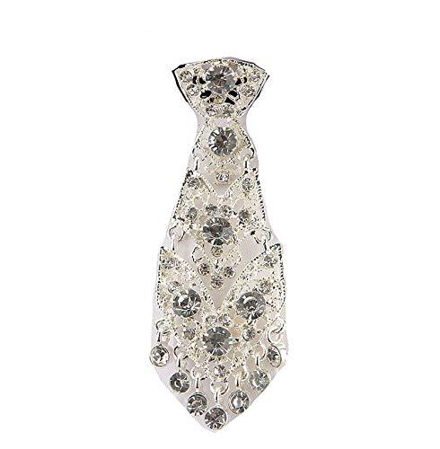 Neckties La Moda Personalidad De Cristal Corbatas De Moda General Corea Del Vino Fiesta De La Boda Ceremonia De Metal Corto De Lujo De Los Hombres