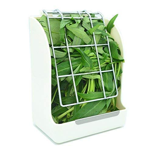 RUBYHOME Hay Feeder/Rack Less Wasted Hay - Ideal for Rabbits/Guinea Pigs/Chinchillas/Hamsters -...