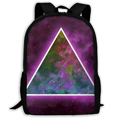 Zaino Mind Emotion And Body As a Energetic Triangle Zipper School Bookbag Daypack Zaino da viaggio Borsa da palestra