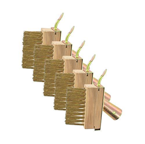 5 Stück Fugenbürste Stahlbürste Unkrautbürste Fugenkratzer