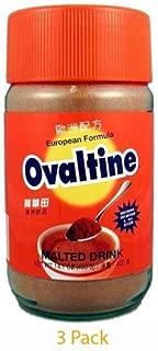 Ovaltine European Formula Malted Drink 14.1 Oz - 400g Bottle(Pack of 3) by Ovaltine