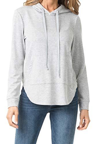 iliad USA Lockere Pullover / Sweatshirts / Hoodies für Damen -  Grau -  XX-Large