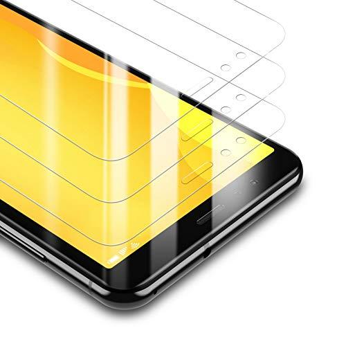 BANNIO Protector de Pantalla Huawei P10 Lite,[3 Unidades] 2.5D Cristal Templado para...