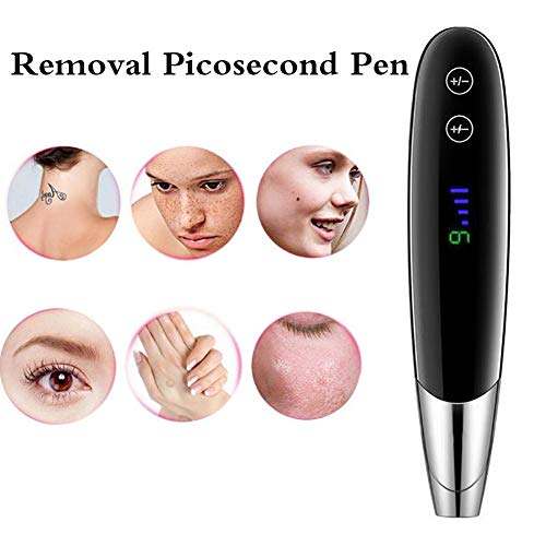 HHYGR Handheld Picosecond Pen, with 4 Speed 9 Level for Removing Freckle Mole Skin Professional...