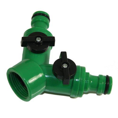 Adaptateur 2 voies pour tuyau d'arrosage