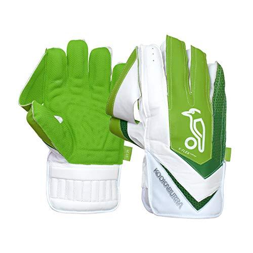 Kookaburra Unisex's W/K 2020 LC 3.0 Wicket Keeping Gloves (Over Sized Adult), White
