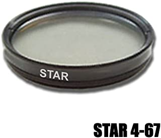 Filtro 4 Puntos Estrella Original DynaSun Universal 4 Star 67mm con Caja