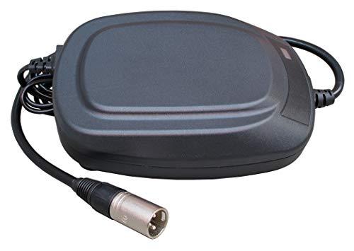 Cellcon oplader met XLR-stekker loodacccu's 24 V 8 A AGM-accu's bijv. 36 Ah 45 Ah 50 Ah 75 Ah elektrische rolstoel elektrische mobiel e-scooter rolstoel