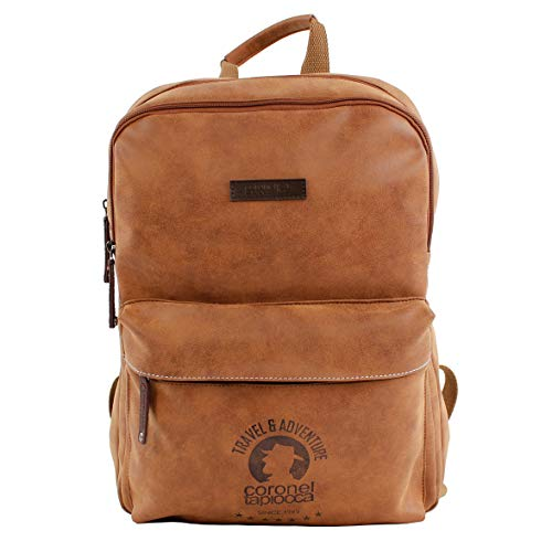 Colonel Tapiocca Backpack and Shoulder Bag - Assorted Colours, brown (Brown) - 0JI2968