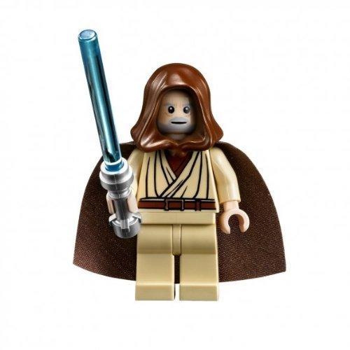 LEGO Minifigura Jedi con capucha de Star Wars Obi-Wan Kenobi (Halcón Milenio - Versión Estrella de la Muerte) por LEGO