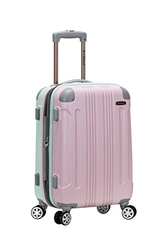 Rockland London Hardside Spinner Wheel Luggage, Mint, Carry-On 20-Inch