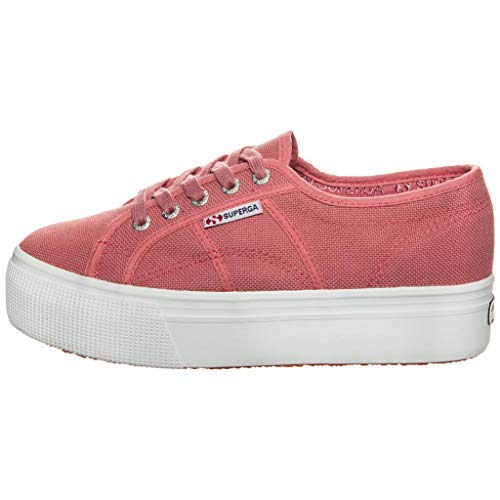 Superga Damen 2790acotw Linea Up And Down Sneaker, Pink Dusty Rose C06, 40 EU