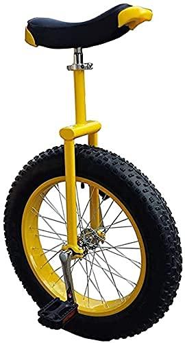 Fahrrad Einrad Einrad 20 24 Zoll Rad Einräder Für Kinder Erwachsene Anfänger Teen, Bequemer Sattel Einrad Sitz Stahl Gabel Rahmen Gummi Bergreifen Für Unisex Radfahren Fahrrad Balance Fahrt Straßens