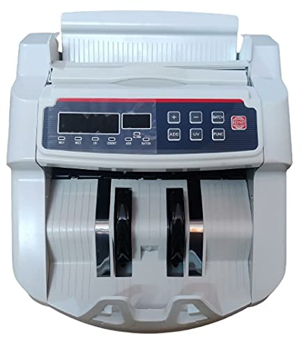 DEHMY Compatible with Old and New Indian Notes Counting Machine with Fake Note Detector with LCD Display and Beep Function