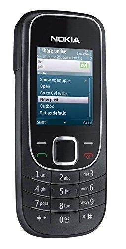 Nokia 2323 Classic Black Schwarz RM-543 Handy Ohne Simlock