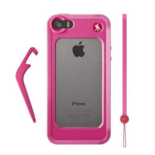Manfrotto Bumper fotografico per iPhone 5/5S, Rosa