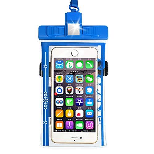 Funda impermeable para teléfono – Funda protectora impermeable para teléfono móvil con bolsa impermeable para natación