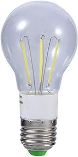Bulb Light, E27 12V 3W/4W/6W Cool/Warm White COB LED Filament Bulb 360 Degree Non-dimmable Light New(3W Cool White)