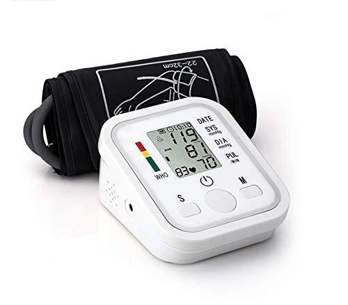 zhangchao Braccio del Monitor per La Pressione Sanguigna - Completamente Automatico della Pressione Sanguigna Macchina Kit Grande Bracciale - Monitor Digitale BP per Adulti