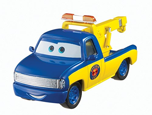 Disney Pixar Cars Race Tow Truck Tom (Piston Cup Series) - Voiture Miniature Echelle 1:55