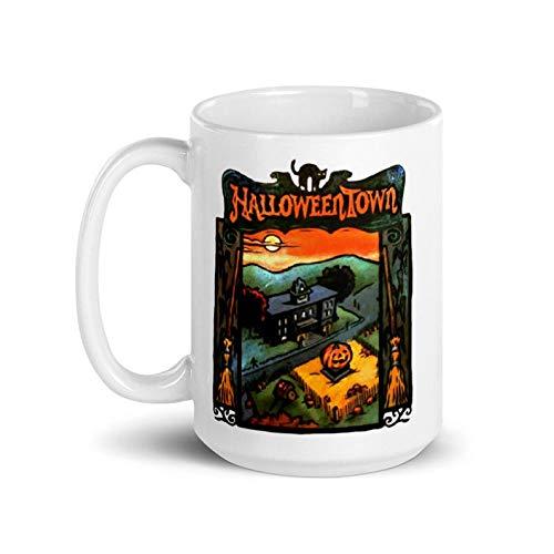 Halloweentown Book Mug - Special Edition 15 oz - Halloween Fall Autumn Pumpkins Disney Channel 90's- Halloween Gift Mug