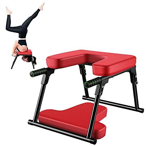 YOVYO Banco Yoga,Silla De Inversión De Yoga,Fácil De Plegar, Fácil De Instalar, Diseño...