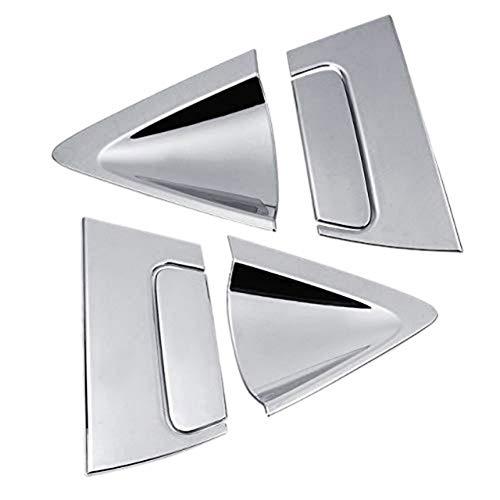JIRENSHU Hintertür Seitenfenster Triangel Abdeckung Außenteile Autozubehör Abs Side Rear Door Han, für Honda, für Hr-V Hrv 2016-2018