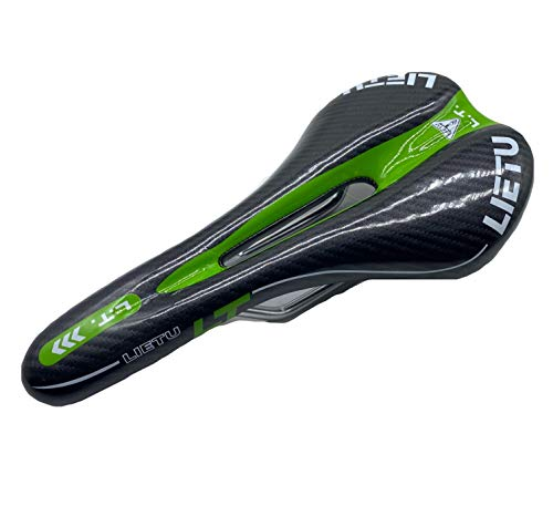 Willyn ZD15 - Sillín universal para bicicleta, color verde