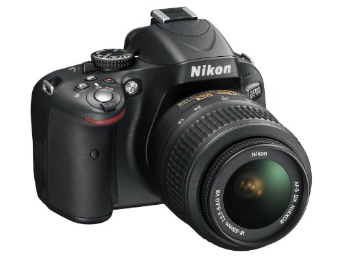 Nikon D5100 16.2MP Digital SLR Camera & 18-55mm VR Lens