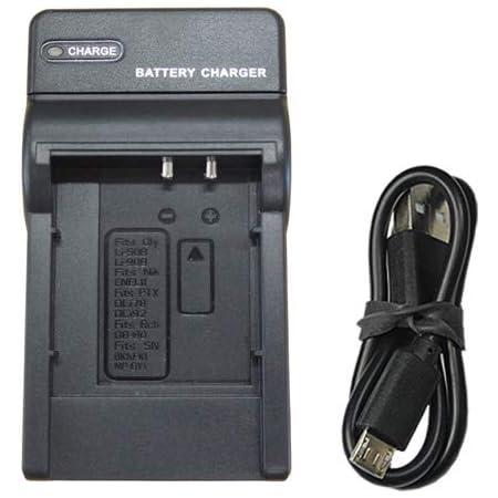 【JC】充電器(USBタイプ)オリンパス OLUMPUS Li-50B Li-90B / ペンタックス D-Li78 D-Li92 対応
