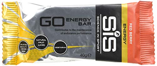 SiS Go Energy 30 x 40g Barretta Energetica, Bacca Rossa - 1...