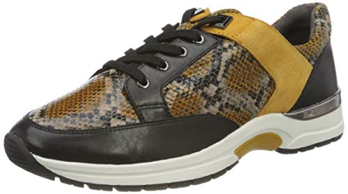 CAPRICE Damen 9-9-23700-25 620 Sneaker, Curry Snake CO, 41 EU