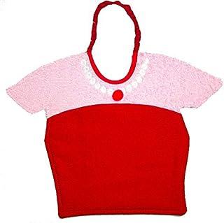 One Size Baby Bib SPAIN t-shirt Zigozago Tie: Elastic