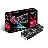 ASUS Arez Strix Radeon Rx Vega64 8GB OC Edition VR Ready 5K HD Gaming DP HDMI DVI AMD Gaming Graphics Card Graphic Cards AREZ-STRIX-RXVEGA64-O8G-GAMING (Renewed)