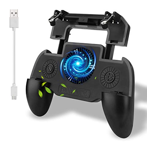 Beinhome Mobile Game Controller, Mobile Gaming Grip Mobile Gamepad mit 4.7 bis 6.5 Zoll Smartphone für L1R1 Shooter-Controller PUBG/Fortnite/Knives Out/Rules of Survival