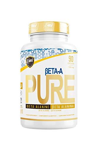 MTX nutrition B.ALANINE PURE 90 capsulas - la β-Alanina PREMIUM de calidad farmacéutica es un sustrato amplificador del rendimiento dado su efecto amortiguador de la fatiga muscular.