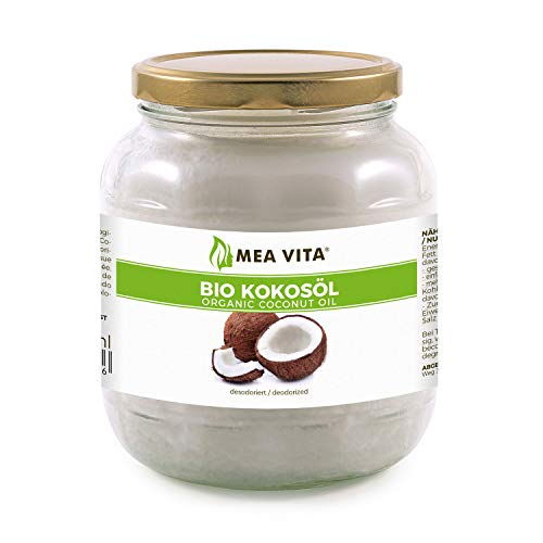 Meavita Aceite De Coco Orgánico Meavita, Insípido Desodorizado - 1000 ml