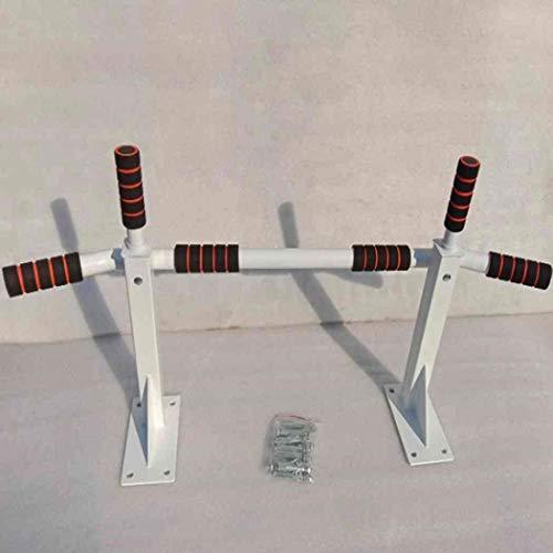AYES Klimmzugstange für Oberkörper, Fitness, Wand, horizontale Stange, Indoor Fitness Single Bar skalierbarer Gymnastikstab, Unisex, weiß, Einheitsgröße